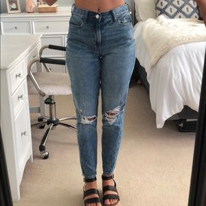 High-rise American Eagle Jeans